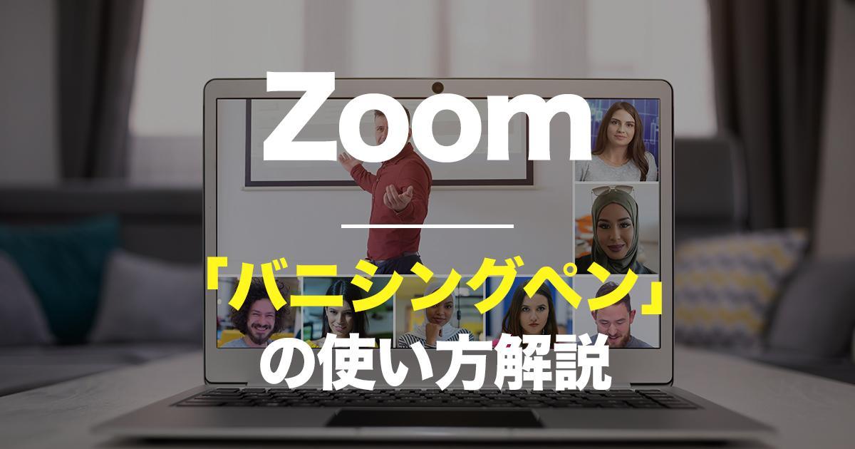 Zoom,バニシングペンの使い方解説