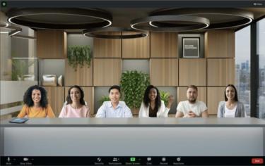 Zoom会議で仮想空間を最大25人と共有するやり方【イマーシブビュー】